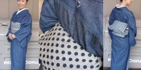 Denim Kimono Brand TATSUMI オリジナル帯