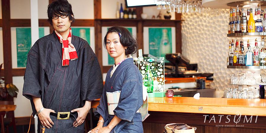 Denim Kimono Brand TATSUMI