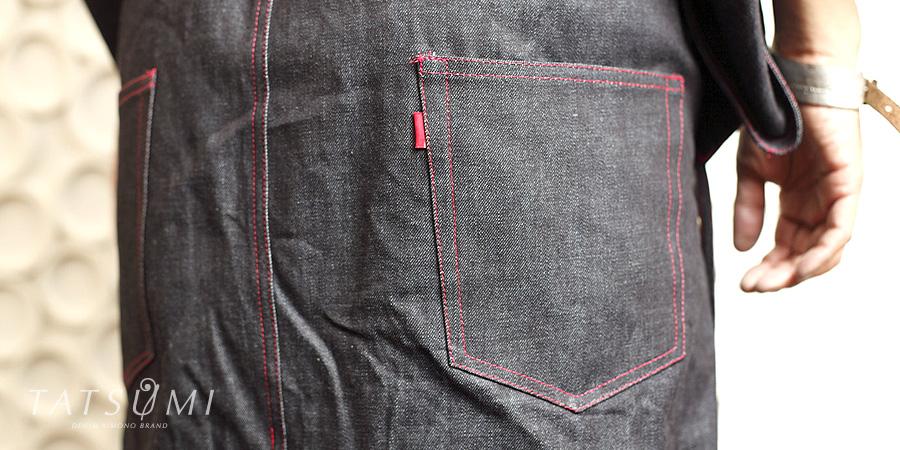 ポケット | デニム着物ギャラリー