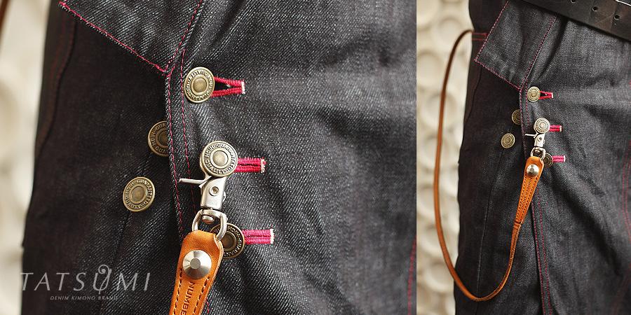 ネオバーボタン | デニム着物ギャラリー